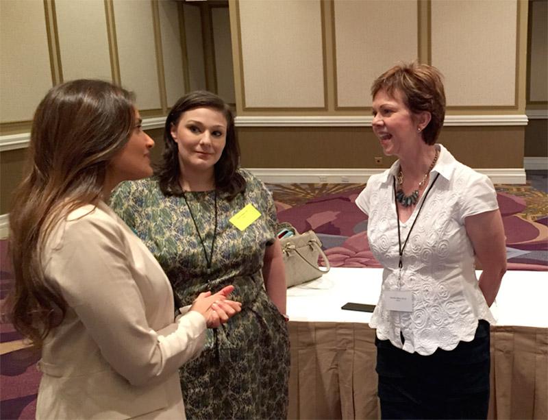 Denette & Gretchen talking to nationally known author Shefali Tsabary, Ph.D.